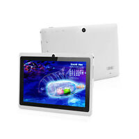 "7"" 4GB White Tablet PC Google Android 4.2 A23 1.5GHz Dual Core Dual Camera WI-FI"