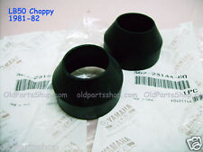 Yamaha Chappy LB50 Fork Dust Cover x2 NOS MX80 Front FORK RUBBER 367-23144-60