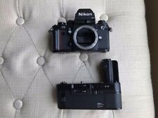 Nikon F3HP SLR 35mm Film Camera Body With Nikon MD-4 Motor Drive