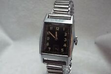 21.Vintage Kurth Freres Certina Hand Winding Wrist Watch 1940s Bonklip bracelet