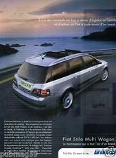Publicité advertising 2003 Fiat Stilo Multi Wagon