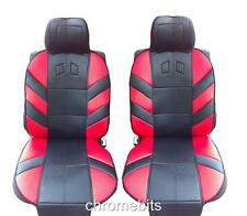 FRONT RED COMFORT PADDED SEAT COVERS FOR OPEL VAUXHALL VECTRA COMBO VIVARO