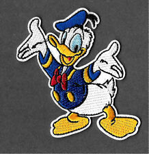 Donald Duck - Duck - Cartoon - Disney - Embroidered Iron On Applique Patch - B