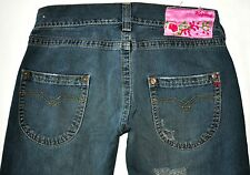 "Replay Men's Factory Distressed ""Dirty"" Blue Jeans, Size 29 X 34.5 AWESOME"