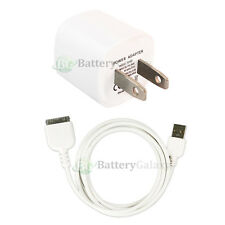 USB Home Wall AC Charger+Cable Cord for iPod Touch Nano iPhone 3G 3GS 4 4G 4S