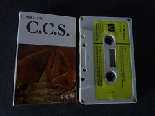 C.C.S. CCS SELF TITLED ULTRA RARE CASSETTE TAPE! ALEXIS KORNER LED ZEPPELIN