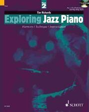 Exploring Jazz Piano - Volume 2: BookCD (The Schott Pop Styles Series)-ExLibrary