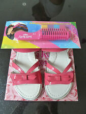 NEW - LELLI KELLY GIRLS SANDALS PINK AND FREE GIFT SIZE UK 9 / EUR 27