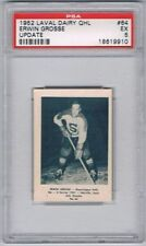 1952 Laval Dairy QHL Update  Hockey Card Shawinigan Falls E. Grosse Graded PSA 5