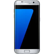 Samsung Galaxy S7 EDGE 32GB GSM Unlocked LTE 12MP Quad Core Smarphone - Silver