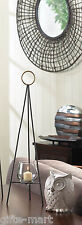 """modern art large 23"""" tall pyramid triangle FLOOR Candle holder metal sculpture"""