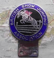 c1960 Vintage Car Mascot Badge for British Show Jumping Association by Gaunt B