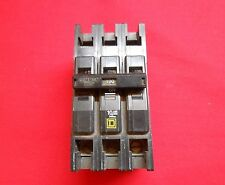 TESTED SQUARE D QCU3100  3 POLE CIRCUIT BREAKER 100 AMP