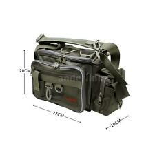 Outdoor Fishing Lure Bag Waist Pack Shoulder Bag Fish Tackle Multifunction Y0O9