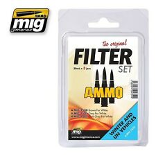 MIG PRODUCTIONS A.MIG7450 - FILTER SET WINTER AND UN VEHICLES - NUOVO