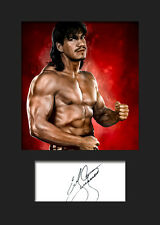 EDDIE GUERRERO #1 (WWE) Signed Photo A5 Mounted Print - FREE DELIVERY