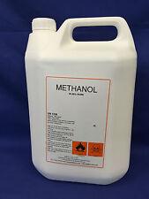 Methanol Pure 5 Litre Biodiesel or general Use (VIRGIN PURE)