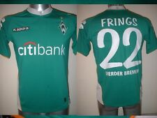 WERDER BREMA FRINGS Camicia KAPPA adulto MEDIUM JERSEY TRIKOT CALCIO SOCCER TOP