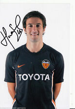 Hugo viana fc valencia top foto ORIG. sign. +a45488