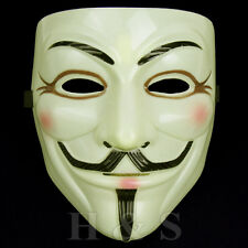 V per Vendetta maschera Guy Fawkes Anonymous Halloween Fancy Dress Costume Cosplay