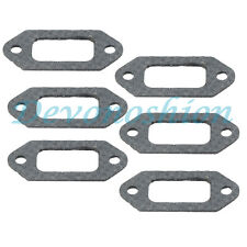 6pcs muffler exhaust gasket for husqvarna 362 365 371 372 372XP # 503 77 59-01