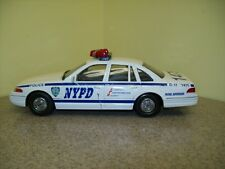 Code 3 Collectibles Die Cast 1998 NYPD Police Patrol Supervisor Toy Car
