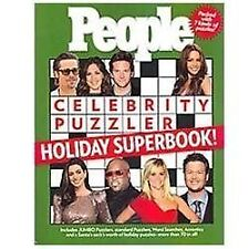 People Celebrity Puzzler Holiday Superbook! by People Magazine Editors BRAND NEW