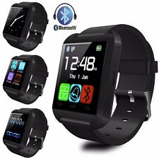 Men Women Sport Office Bluetooth Wrist Smart Watch For iPhone IOS Android Black