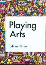 Playing Arts Edition 3 Deck Playing Cards Poker Size USPCC Custom Limited Sealed