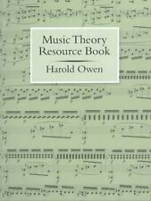 Music Theory Resource Book by Harold Owen (2000, Spiral)