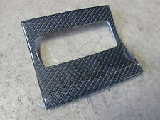 Barra de decoración revestimiento de carbono central ajustable quattro Audi s6 rs6 a6 4b0863210