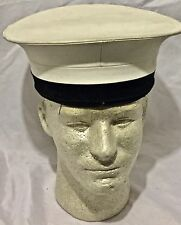 Royal Navy Class II Sailor's Hat, no Ship's Talley size 6 3/4 #7
