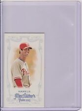 RARE 2013 ALLEN & GINTER COLE HAMELS MINI A&G BACK SHORT PRINT SP CARD #332