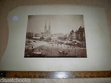 1880's Victorian Albumen Austria Photo by A. Wimmer