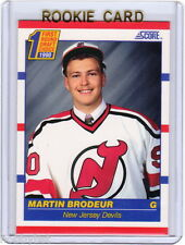 ONLY RC~MARTIN BRODEUR 1990-91 Score ROOKIE CARD~90~STANLEY CUP~VEZINA~NJD~MARTY