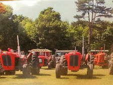 Red Tractor's Design...  Blank Greeting Card