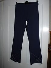 """E VIE """" LADIES TROUSERS """" SIZE 12"""" ( LOVELY FOR A PARTY ). VISCOSE/ POLYESTER."""