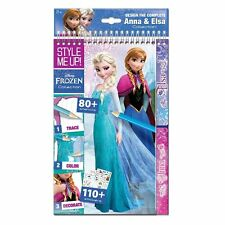 Style Me Up! Disney Frozen Sketchbook Book - Anna & Elsa Collection NEW 2016