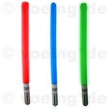 8 Stück Aufblasbare Lichtschwerter Bunt 85cm Laserschwerter Licht Laser-Schwert