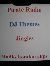 Pirate Radio CD DJ Themes, Jingles, Radio London Clips