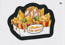 2016 TOPPS WACKY PACKAGES MLB - NACHO HIGH CHEESE - STICKER #83