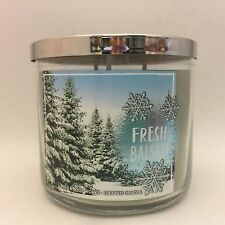 1 Bath & Body Works Fresh Balsam Home 3 Wick Scented Candle 14.5 oz Winter
