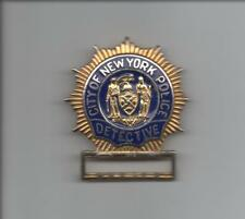 VINTAGE! OBSOLETE!  NEW YORK CITY POLICE BADGE - DETECTIVE