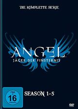 ANGEL - JÄGER DER FINSTERNIS Season Staffel 1 2 3 4 5 KOMPLETTE SERIE 30 DVD Box