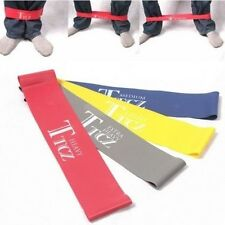 New Ankle Resistance Bands (4 sets) Fitness Loop Workout Exercise Lift Leg Butt