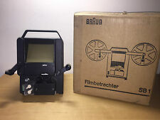 Used - BRAUN - Filmbetrachter - Film Viewer - NO FUNCIONA - Is NOT working