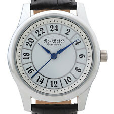 Gothic 24-hour watch with Swiss movement. Numbered Limited Edition, just 500 pcs