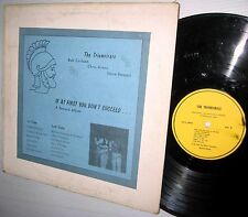 the TRIUMVIRATE If At First You Don't Succeed RARE PRIVATE PRESS Folk LP