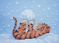 KL54 Toto in the Snow Cross Stitch Kit by Genny Haines from Goldleaf Needlework