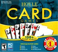 HOYLE CARD GAMES 2008 for PC/MAC SEALED NEW